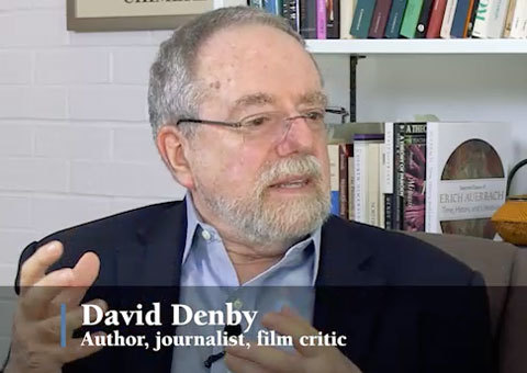 David Denby, author, journalist, film critic