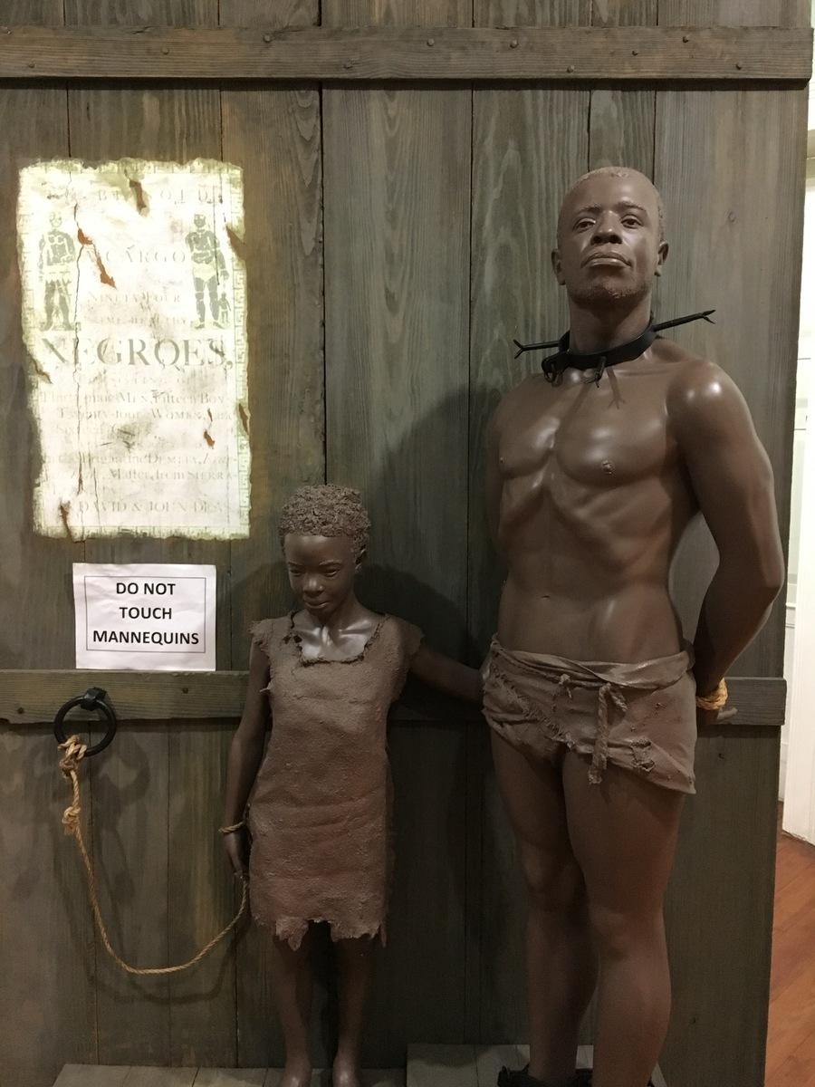 Barbados Statue