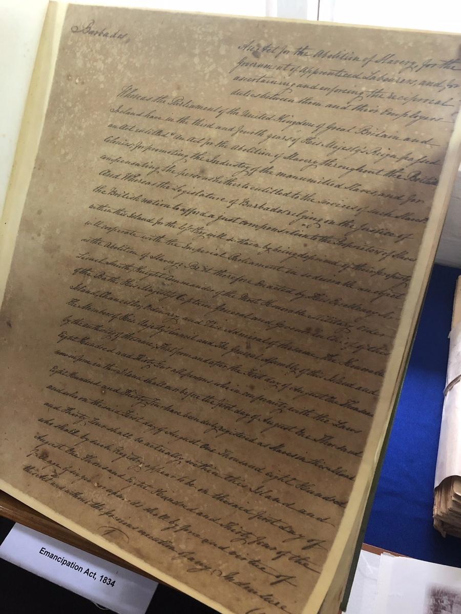 Emancipation Act Barbados