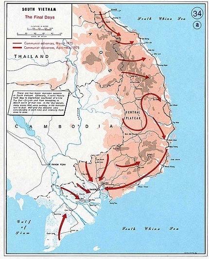 South Vietnam, 1975