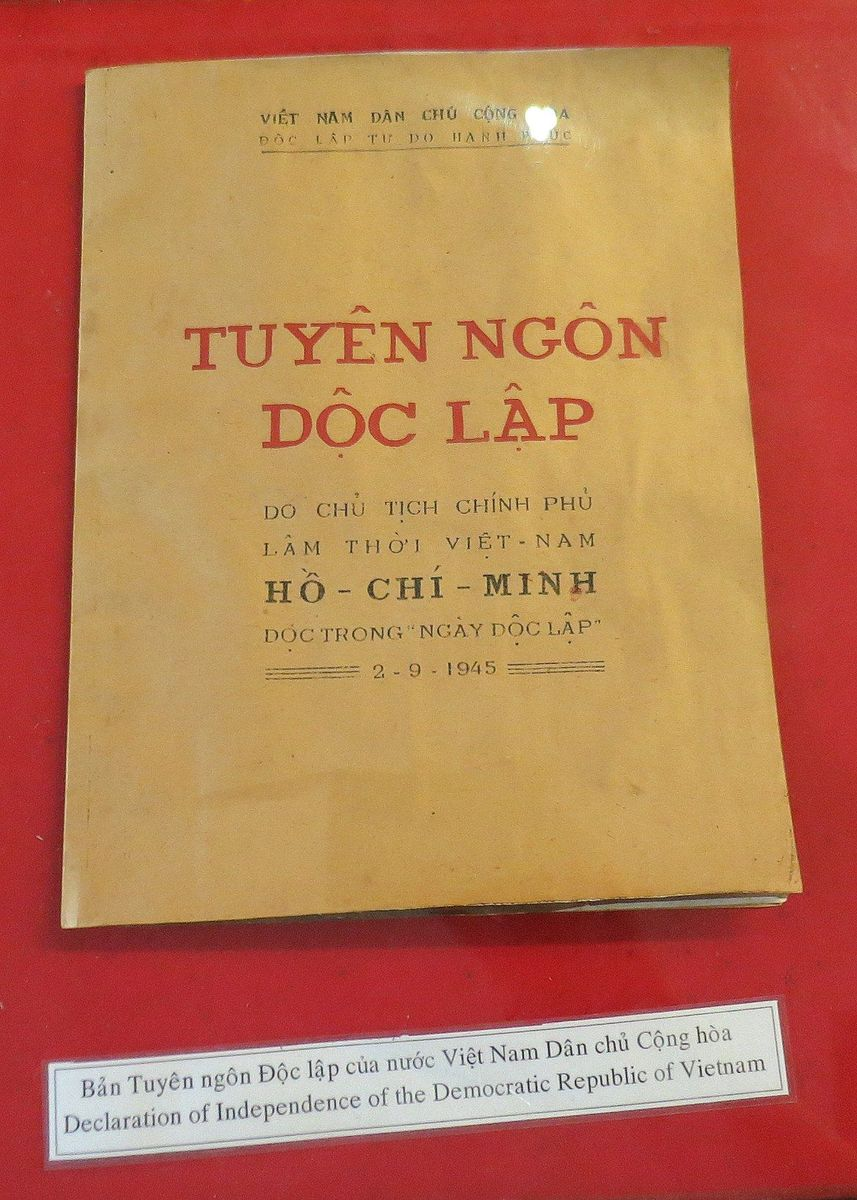 Vietnamese Declaration of Independence