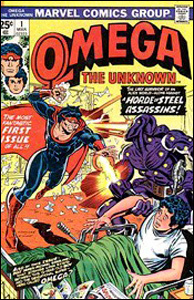 "Marvel Comics, ""Omega The Unknown"""