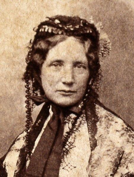 Harriet Beecher Stowe, c. 1852