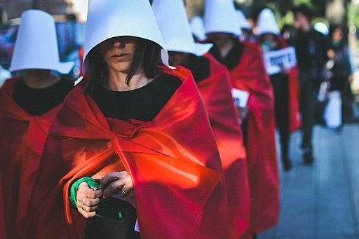 Handmaids' Protest<br /> <br /> Photo credit: Ana Clara Nicola<br />