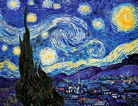 Humanities of the starry night