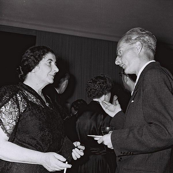 Golda Meir in 1949