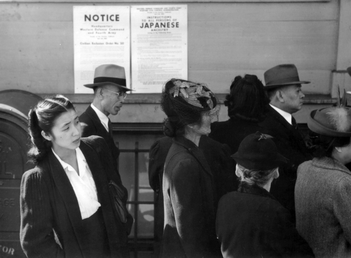 Japanese internment detainees