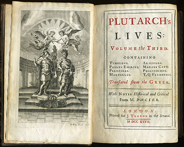 "Plutarch's ""Lives"""
