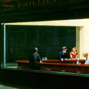 """Night Hawks,"" by Edward Hopper"