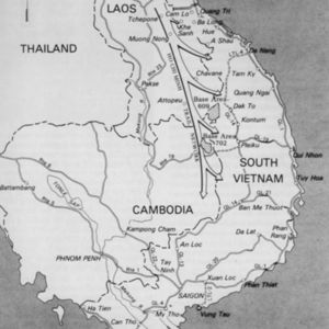 Ho Chi Minh Trail network