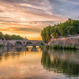 Reflections on the Banks of the Tiber