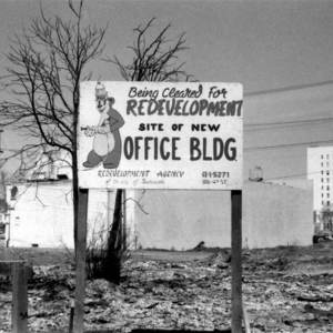A History of Redevelopments