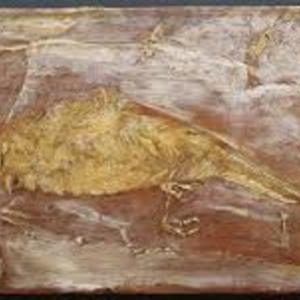 Dead Bird, a painting by Albert Pinkham Ryder (1890s)