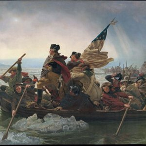 """Washington Crossing the Delaware"" by Emanuel Leutze (1851)"