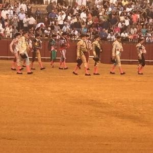 Spanish toreros