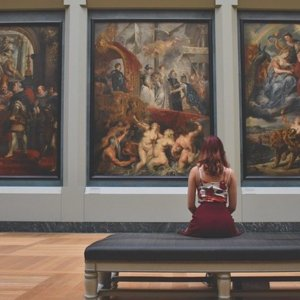 Visiting the Art Museum
