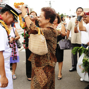 The Hawaiian Filipino community welcomes a Philippine navy captain