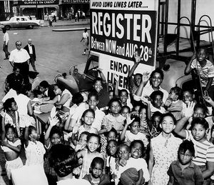 African American voter registration, 1960s