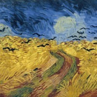 """Vincent van Gogh, """"Wheatfield with Crows"""""""