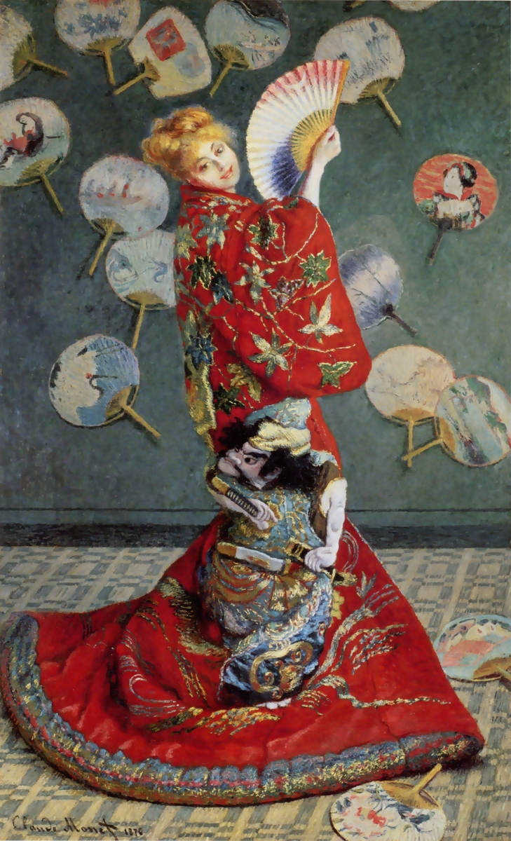 Camille Monet in Japanese Costume