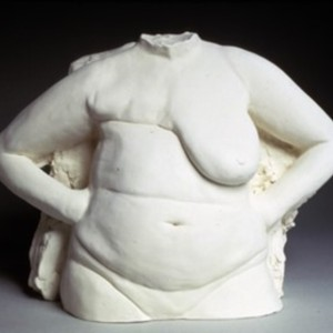 Torso with Hands on Hips, 1994, by Nancy Fried, American, b. 1945